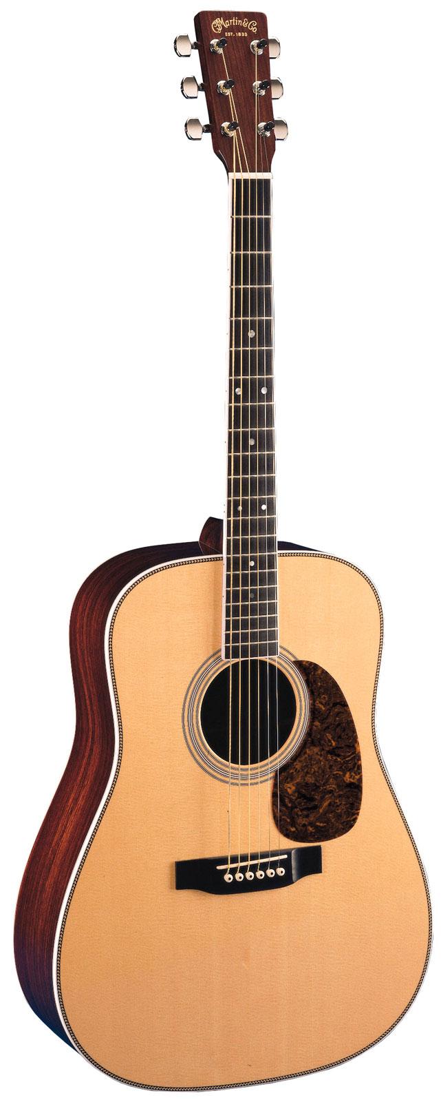 martin hd 35 acoustic guitar with case. Black Bedroom Furniture Sets. Home Design Ideas