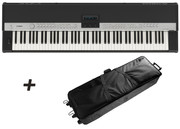 yamaha cp5 88 key fully weighted stage piano w free case. Black Bedroom Furniture Sets. Home Design Ideas