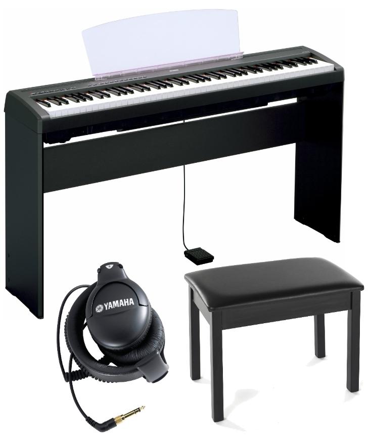 yamaha p105 digital piano complete bundle
