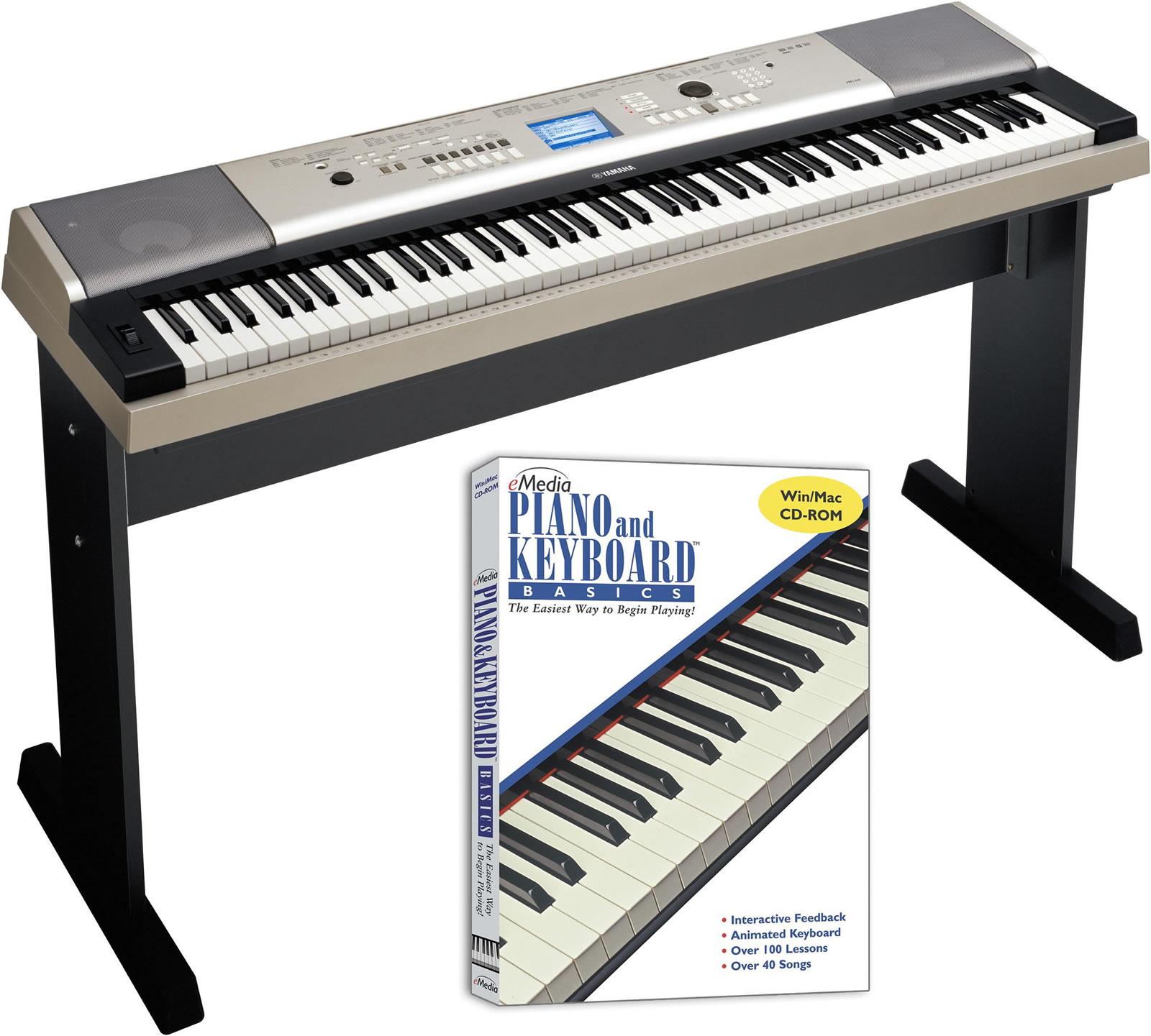 Portable keyboards casio yamaha roland portable for Yamaha p45b keyboard