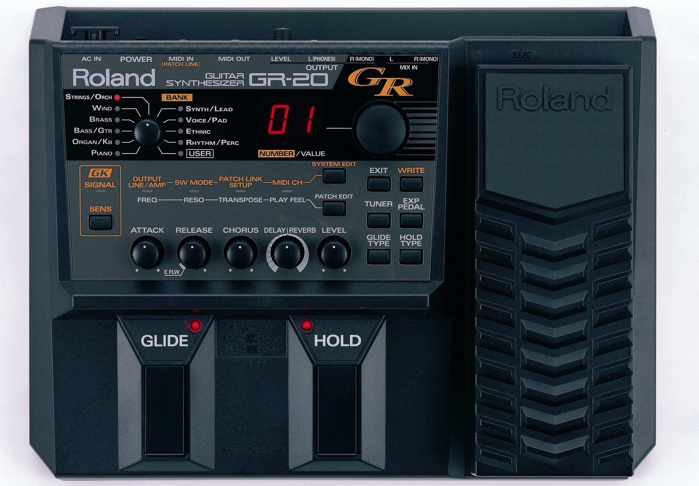 Roland Gr20 Guitar Synth With Gk3 Pickup Gt Gt Discontinued See G