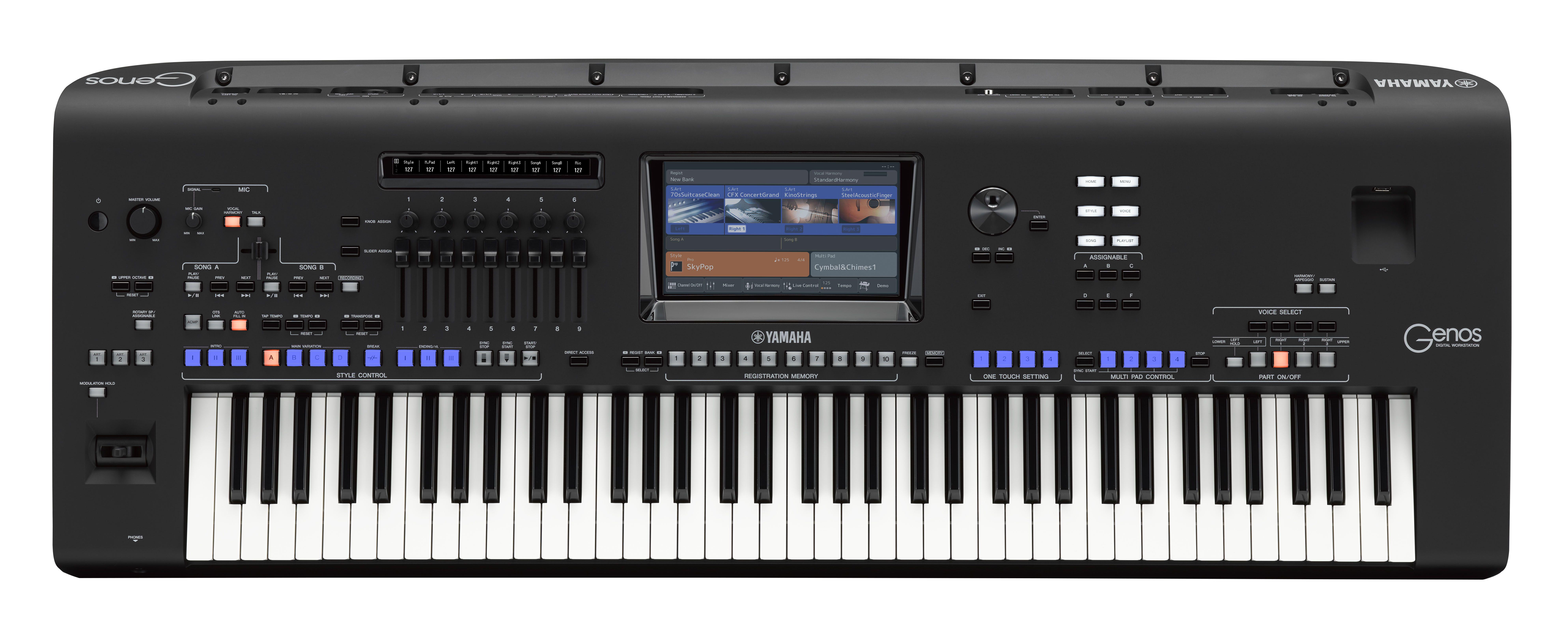 Musical keyboards buy yamaha keyboards casio keyboards for Korg yamaha roland