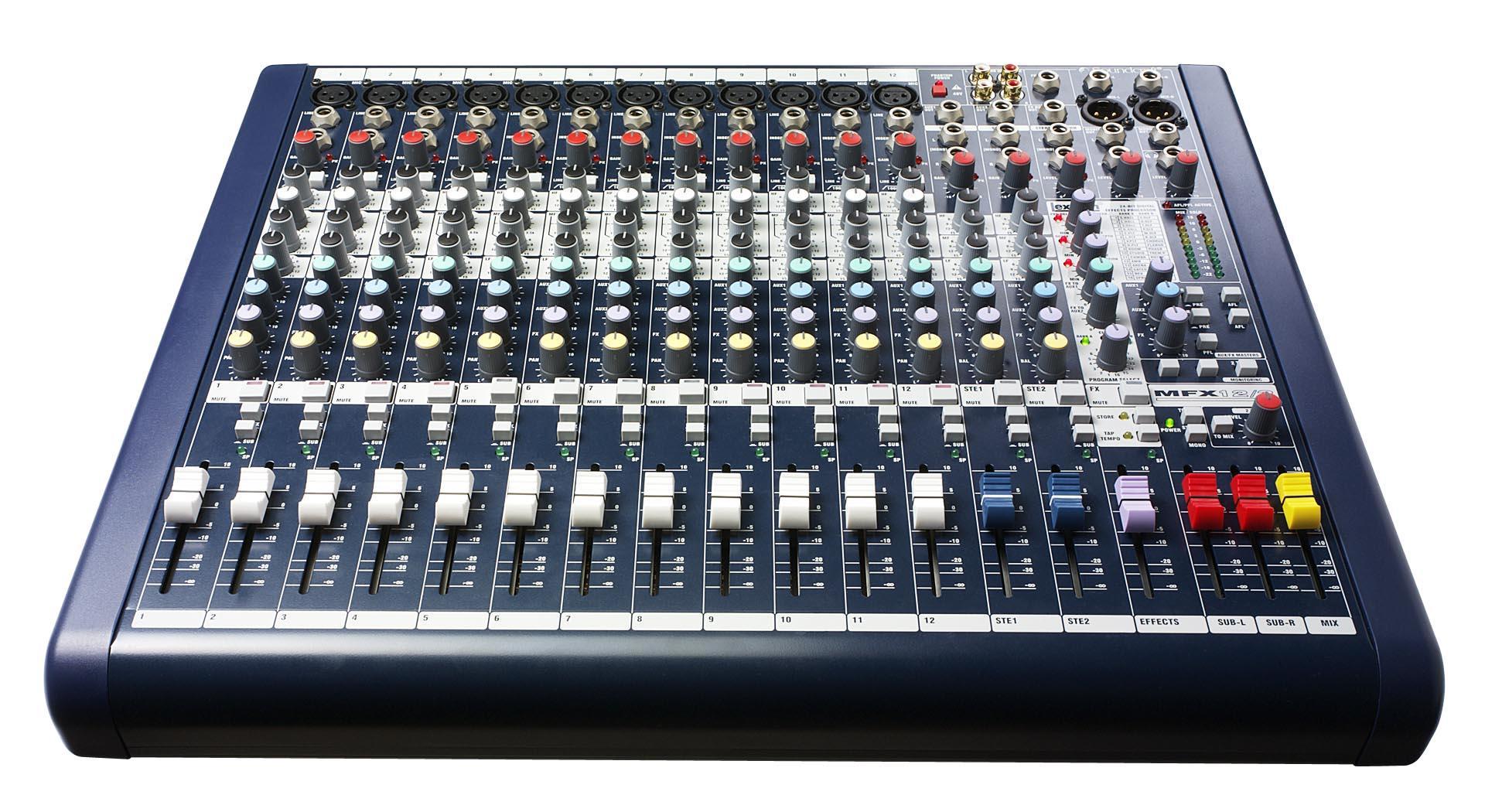 Soundcraft Mfxi12 Mixer