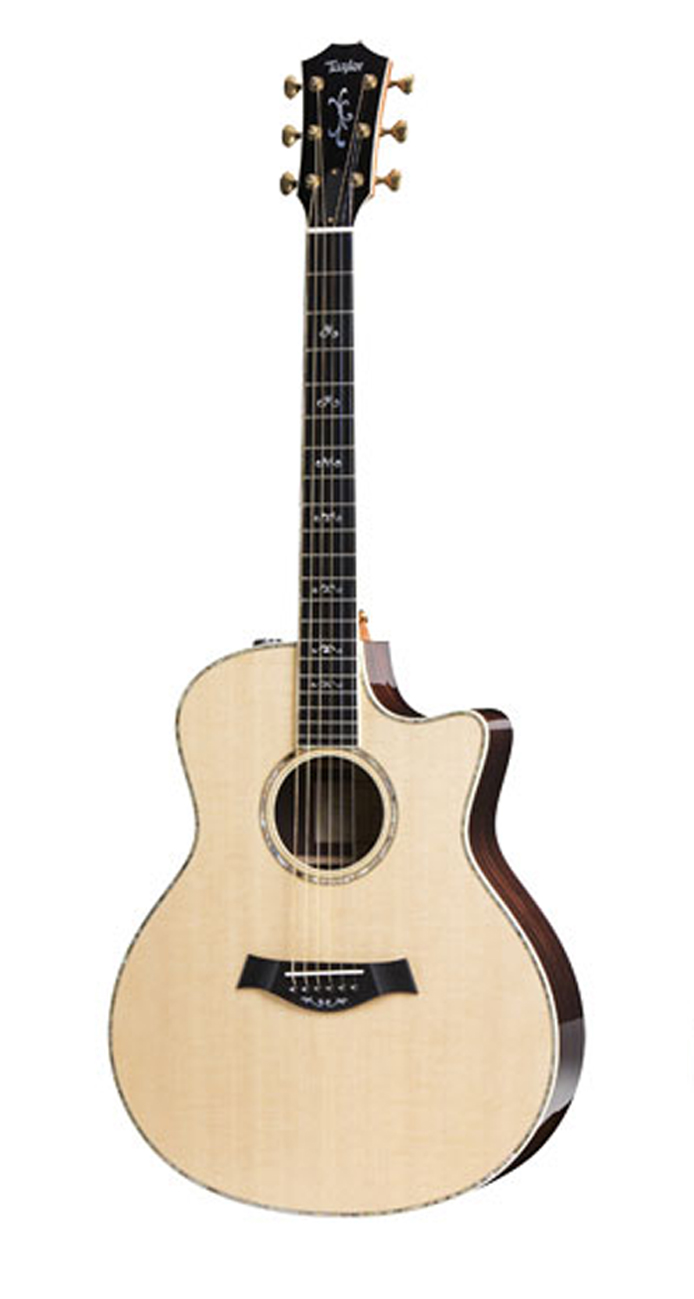 taylor 916ce acoustic electric guitar cutaway with hardshell case. Black Bedroom Furniture Sets. Home Design Ideas