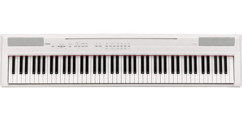 yamaha p105 digital piano white