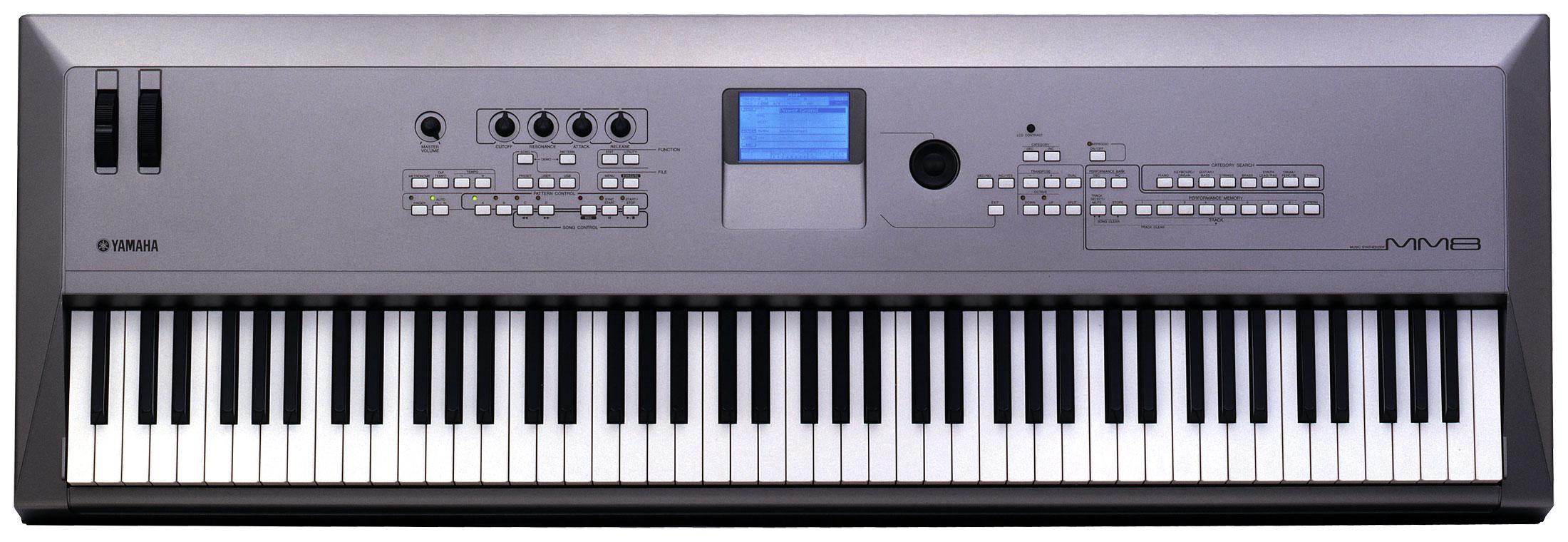 Yamaha mm8 88 key music synthesizer for Yamaha synthesizer keyboard