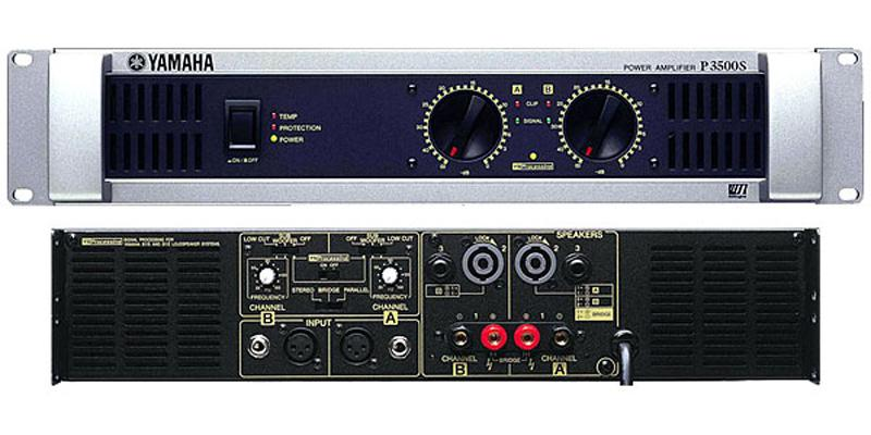 yamaha p3500s power amplifier. Black Bedroom Furniture Sets. Home Design Ideas
