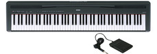 Picture of Yamaha P85 Digital Piano Black OBT