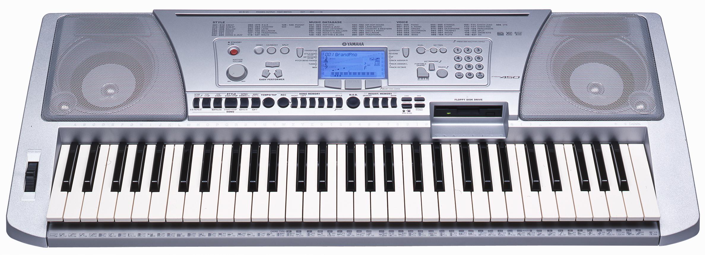Yamaha psr 450 3