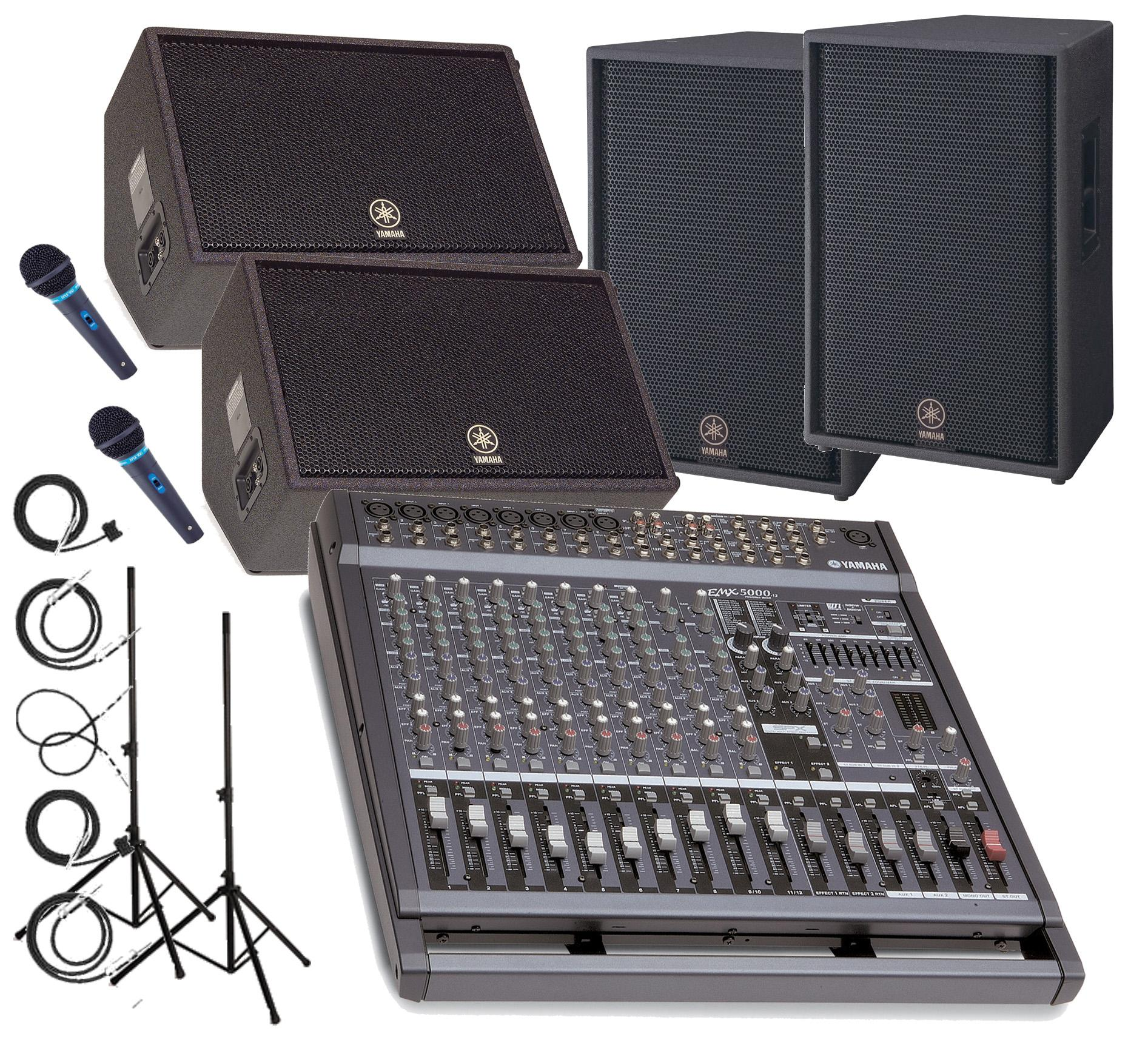 Pa system packages for Yamaha sound system