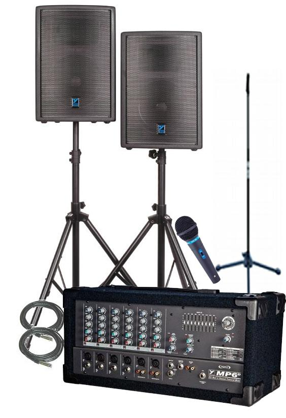 Yorkville Pulse Series Series Complete Sound System
