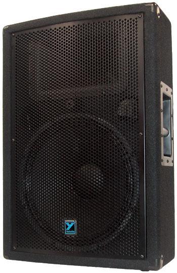 yorkville yx15p powered speaker 300 watts. Black Bedroom Furniture Sets. Home Design Ideas