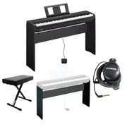 yamaha p45b digital piano complete bundle. Black Bedroom Furniture Sets. Home Design Ideas