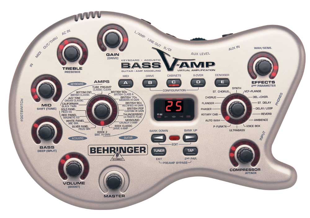 BEHRINGER LX1B V-AMP VIRTUAL BASS AMPLIFIER