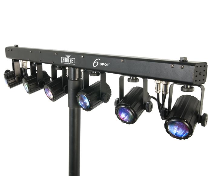 Stage lighting equipment image of chauvet dj chauvet 6spot 20265 aloadofball Choice Image
