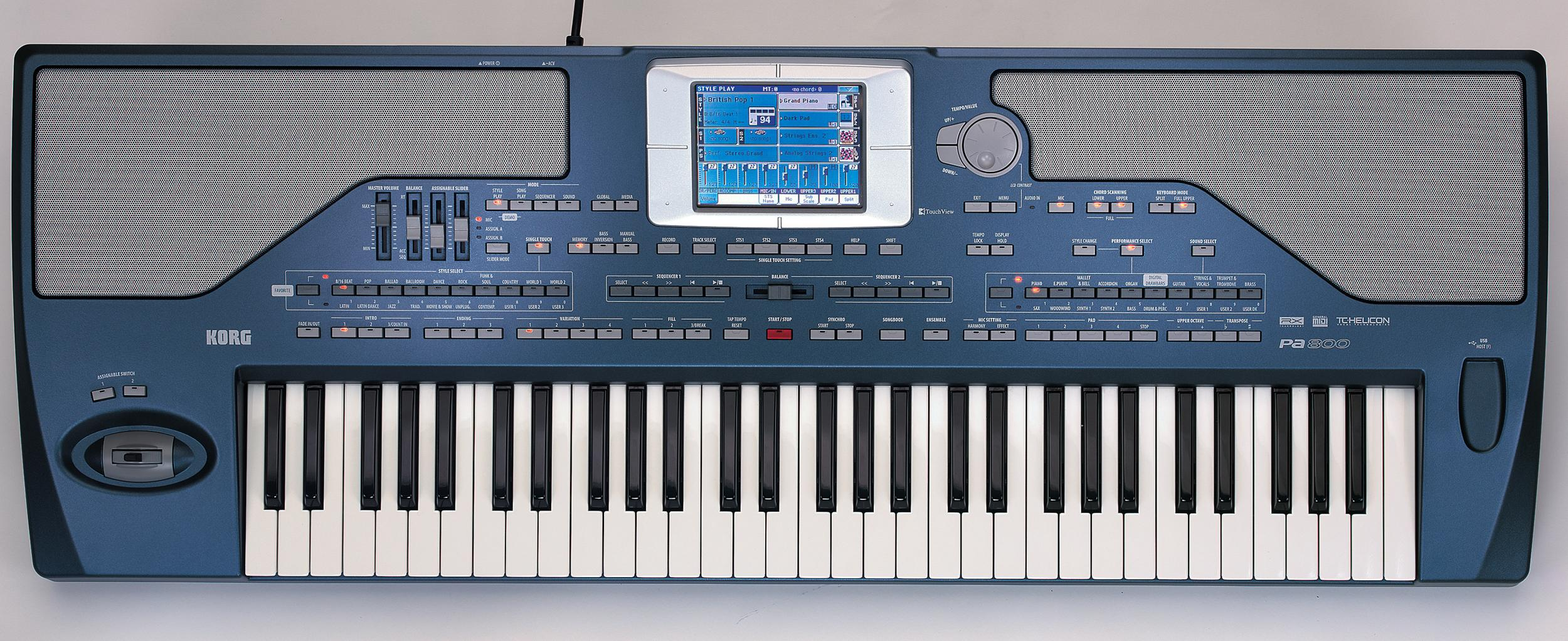 Korg pa800 pro arranger for Yamaha professional keyboard price
